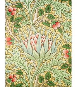 Artichoke_wallpaper_Morris_and_Co_J_H_Dearle